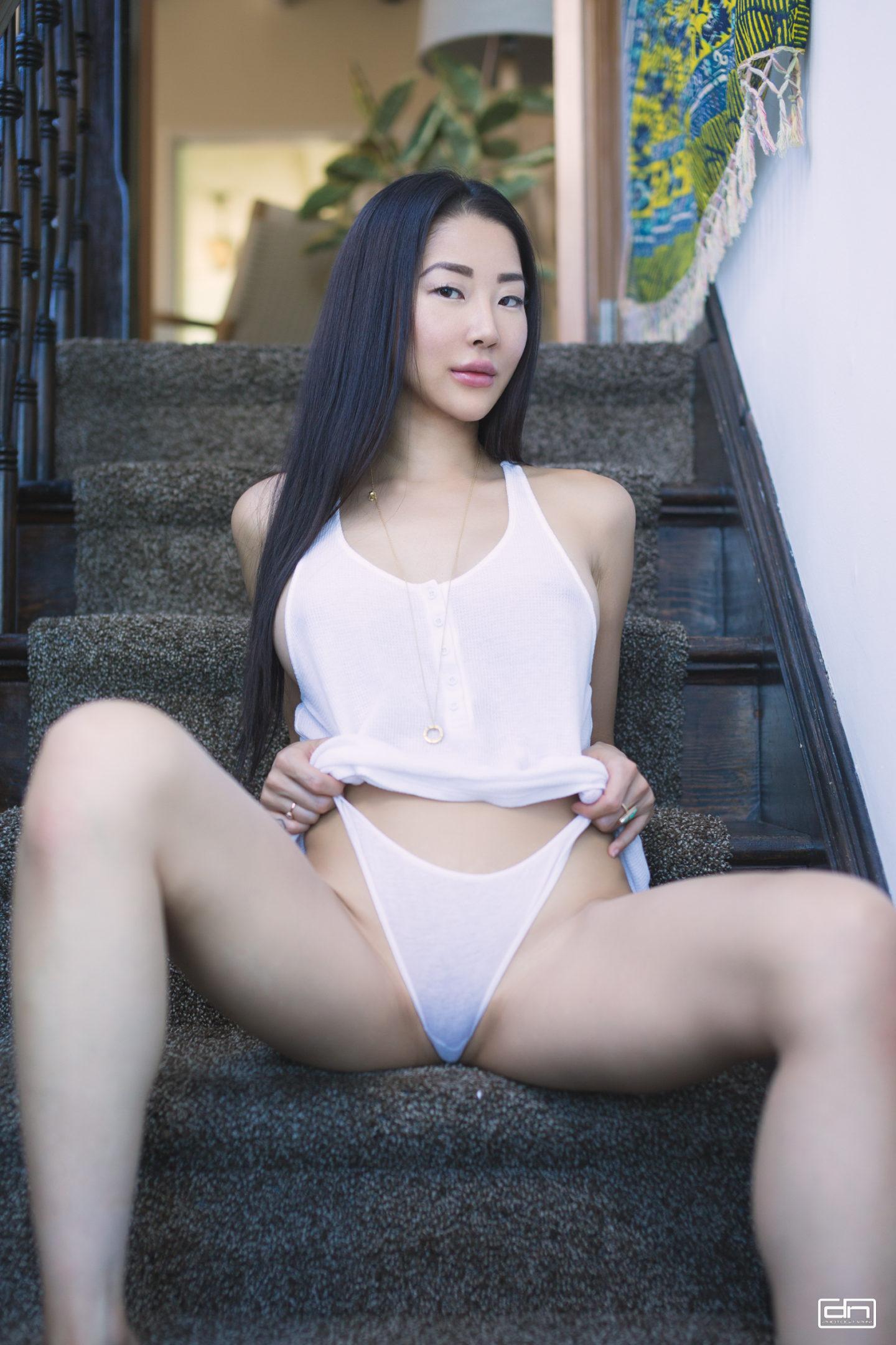 Organic cotton underwear, style blogger Moon.